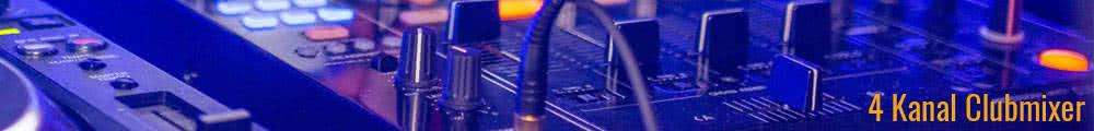 4 Kanal clubmixer banner