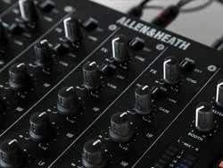 Allen & Heath DJ clubmixer Banner