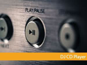 dj cd player banner