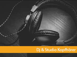 dj und studio kopfhörer