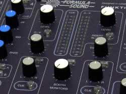 Formula Sound DJ clubmixer Banner