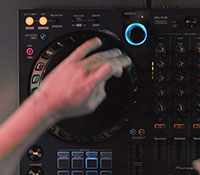Pioneer DJ DDJ-FLX6 Sample Scratch