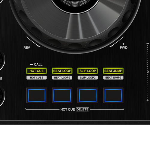 pioneer xdj-rr performance controls