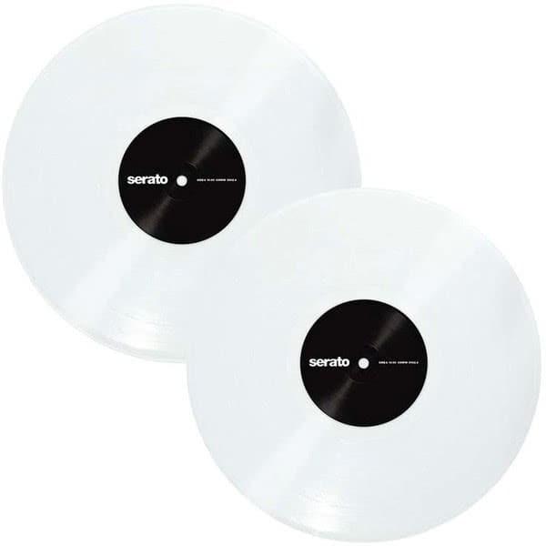 """Serato Control Vinyl 2x12"""" Clear Glass_1"""
