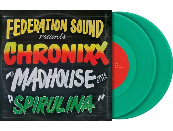 "Serato 2x7"" Control Vinyl - Chronixx Spirulina_1"