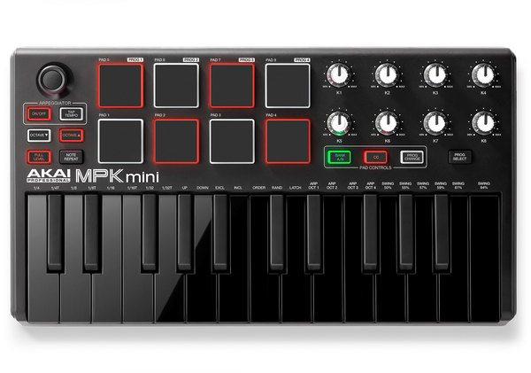 Akai MPK Mini MK2 - LE Black_1