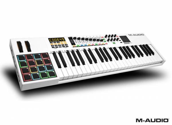 M-Audio Code 49 white_1
