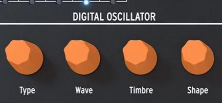 Oszillator des Arturia MicroFreak