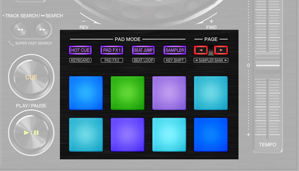 DDJ-800 Performance Pads