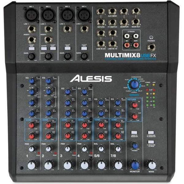 Alesis MultiMix 8 USB FX_1