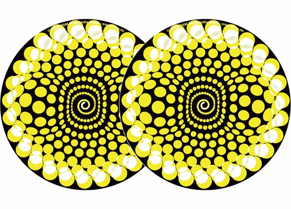 2x Zomo Slipmats Balls - amarillo_1