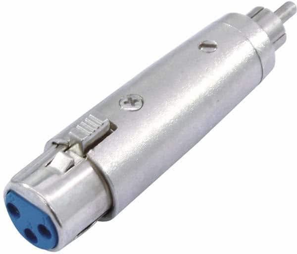 Omnitronic Adaptador RCA (m) - XLR (f)_1