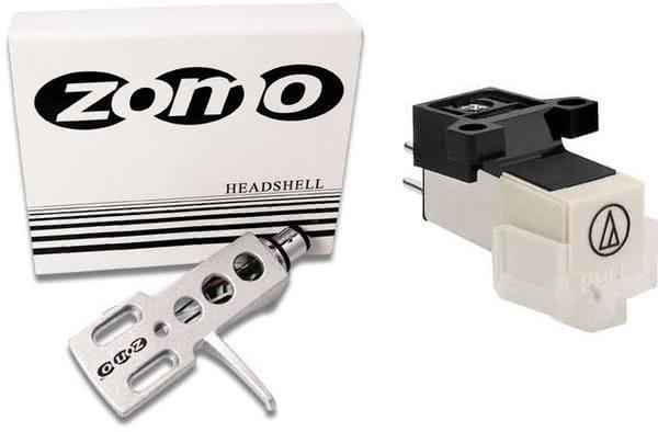 Audio Technica 3600 L + Zomo Headshell Silver_1