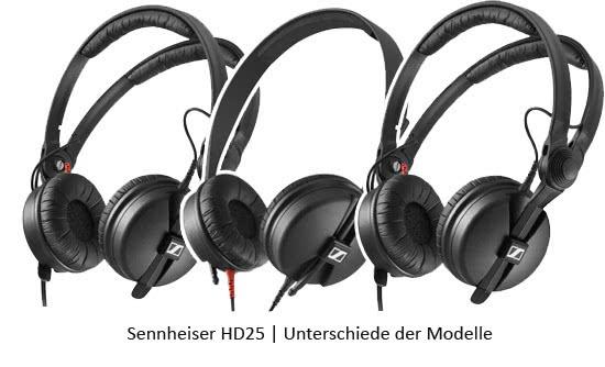 sennheiser-hd25-modelle-unterschied