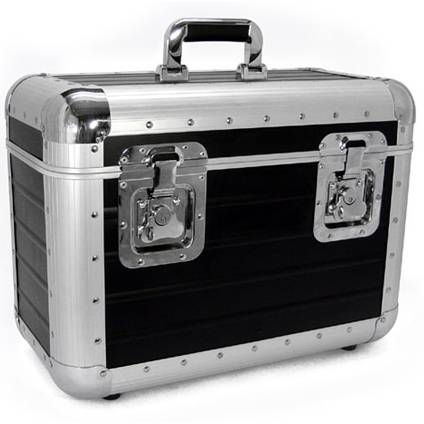 Amabilia Recordcase S80 Soft Standard DJ Plattenkoffer Plattencase LP-Case