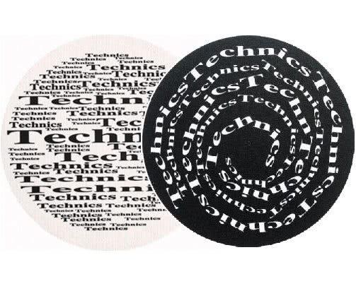 2x Slipmats - Technics Broadway Spiral_1