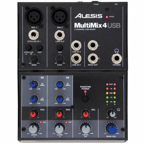 Alesis MultiMix 4 USB_1