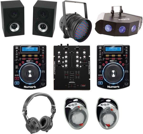 Recordcase CD DJ Starter Set Plus_1