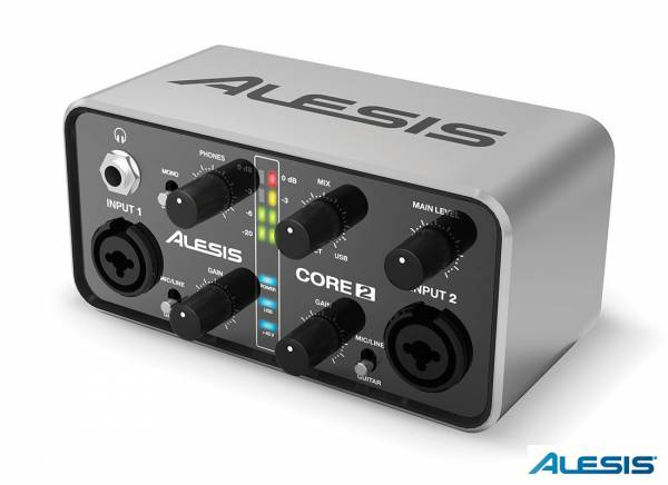 Alesis Core 2 Audio Interface_1