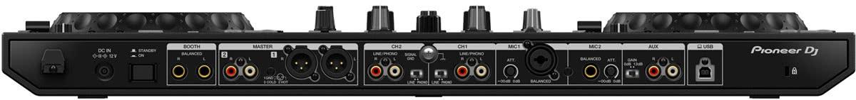 DDJ-800 Rückseite