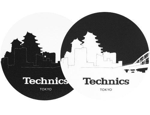 2x Slipmats - Technics Skyline Tokyo_1