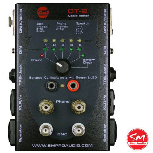 SM Pro Audio Cable Tester CT2_1