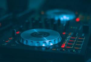 DJ Controller im Club