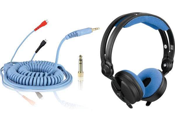 Bundle: HD 25 Cable DeLuxe 3,5 m + Earpads Velour - sky_1
