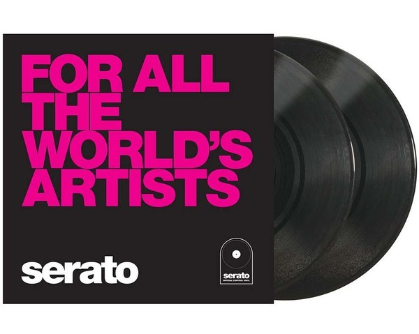 "Serato Control Vinyl 2x10"" - For all the World's Artists_1"