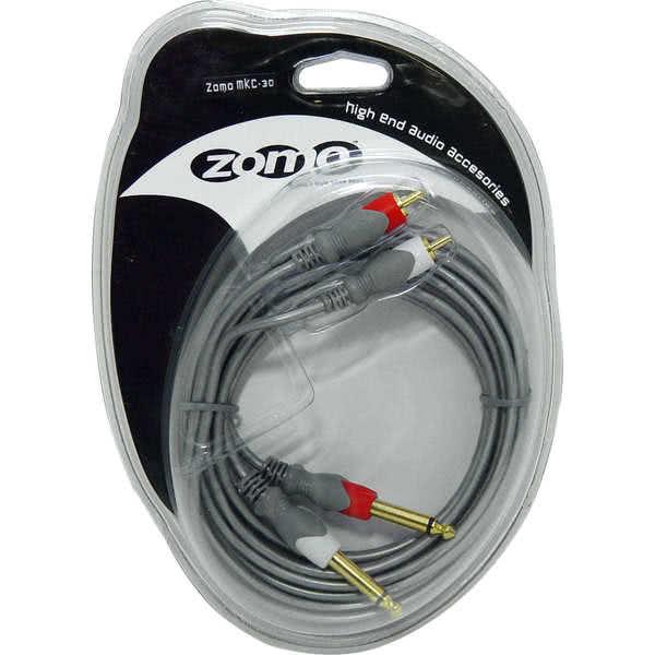 Zomo Kabel MKC-30 - 2x 6,3 mm aansluiting - RCA - 3m_1