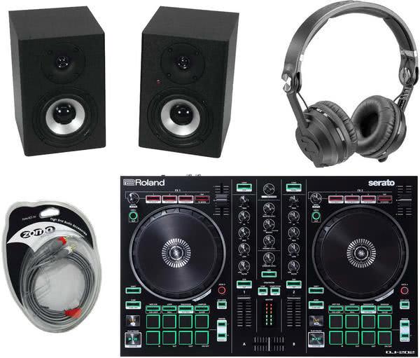 recordcase controller dj starter set dj controller digitales dj equipment dj equipment. Black Bedroom Furniture Sets. Home Design Ideas