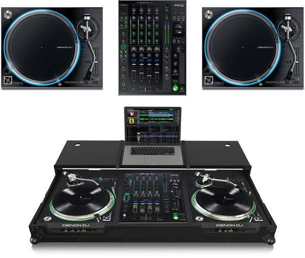 Bundle: 2x Denon VL-12 + Denon DJ X1800 + Zomo VLX-1800 Plus NSE_1