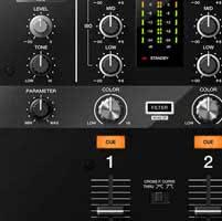 Pioneer DJM-250 MK2 Filter FX