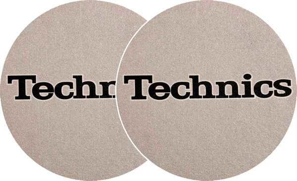 2x Slipmats - Technics - argent_1
