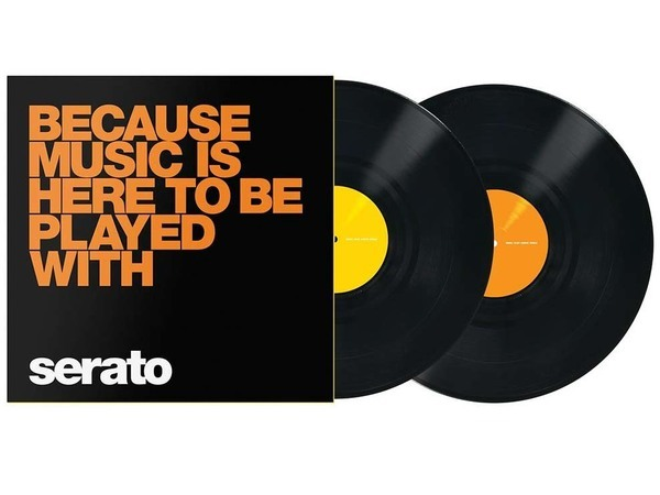 "Serato Scratch Vinyl Performance 2x12""- Because Music is here_1"