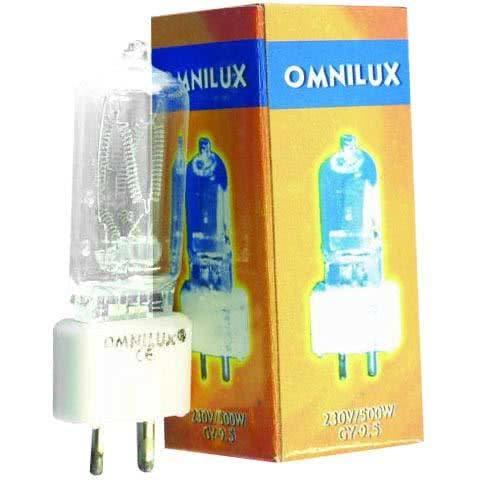 Omnilux A1 230V/500W GY-9,5 75h_1