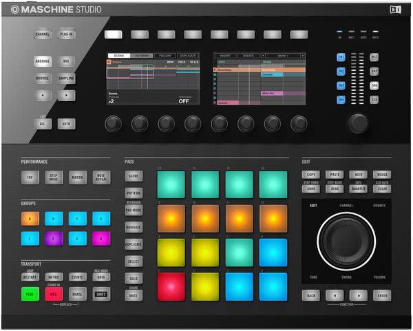Native Instruments Maschine Studio - black_1
