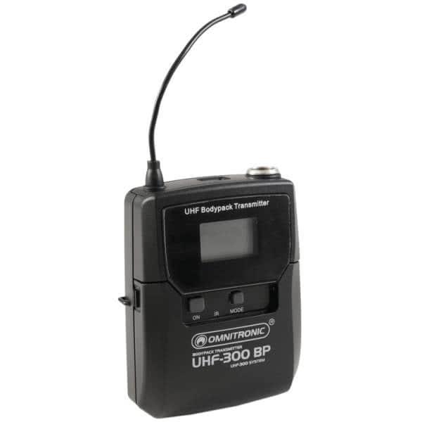 Omnitronic UHF-300 Pocket Transmitter_1