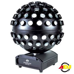 American DJ Mirrorball Effect Spherion WH LED_1