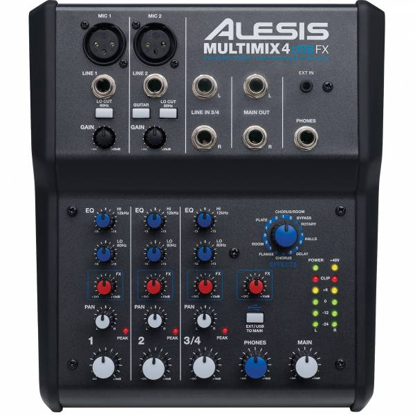 Alesis MultiMix 4 USB FX_1