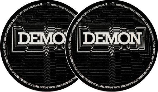 2x Slipmats - Demon_1