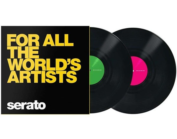 "Serato Scratch Vinyl Performance 2x12"" - For all the World's Artists_1"