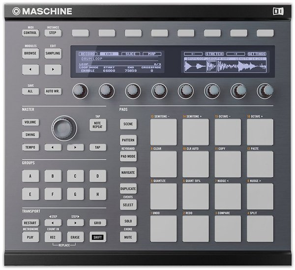 Native Instruments Custom Kit Maschine MK2_1