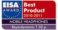 Beyerdynamic T50p Eisa Award