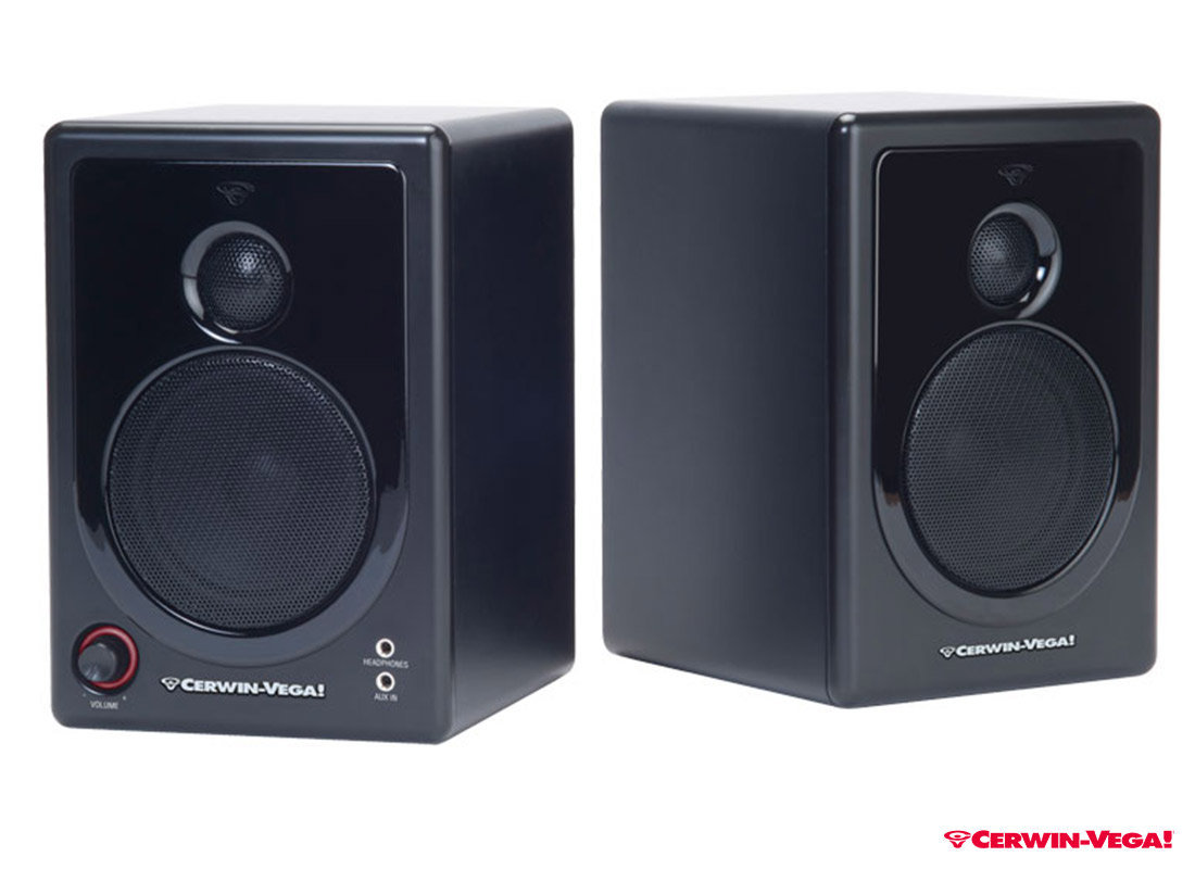 Cerwin Vega Desktop Speaker Xd3 2 Pieces Pa Speakers