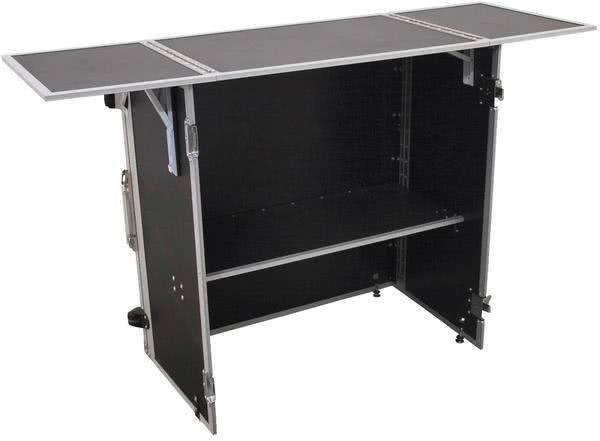 Roadinger DJ-Tisch zusammenklappbar_1