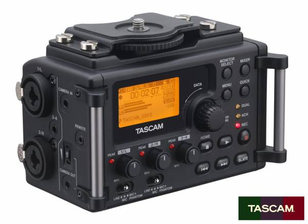 Tascam Audio Recorder for Camera DR-60D_1
