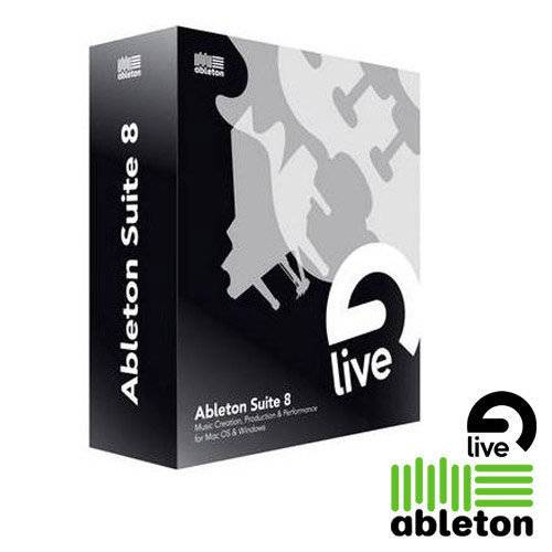 Ableton Live 8 Suite Upgrade of Live 7_1