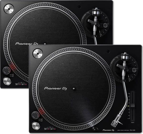 Pioneer PLX-500-K - Doppelpack Bundle_1