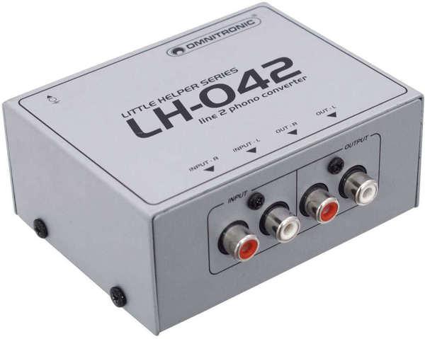 Omnitronic LH-042 Conversor de Línea/Fono_1